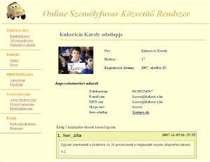 Oszkár profillap 2007.11.27.