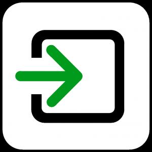 Csak beszállóhely ikon
