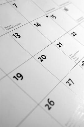 Esemény - naptár