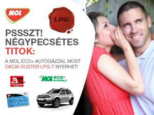 Mol ECO+ Autógáz nyereményjáték