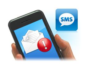 SMS értesítő