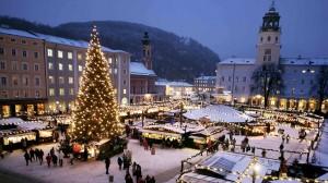 Adventi vásár Salzburgban