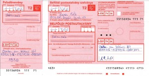 Belföldi postautalvány