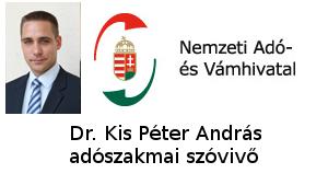 Dr. Kis Péter András adószakmai szóvivő