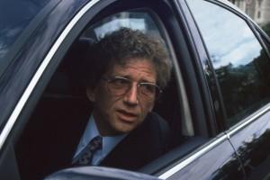 miniszter az autóban - Kern András