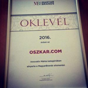 magyarbrands díj