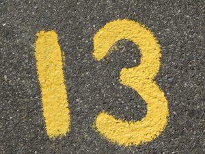 13-as szám
