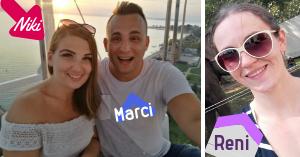 Niki, Marci és Reni