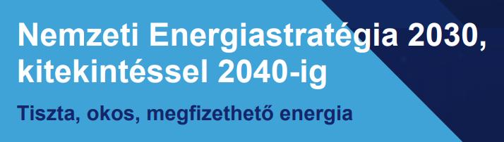 Nemzeti Energiastratégia főcím